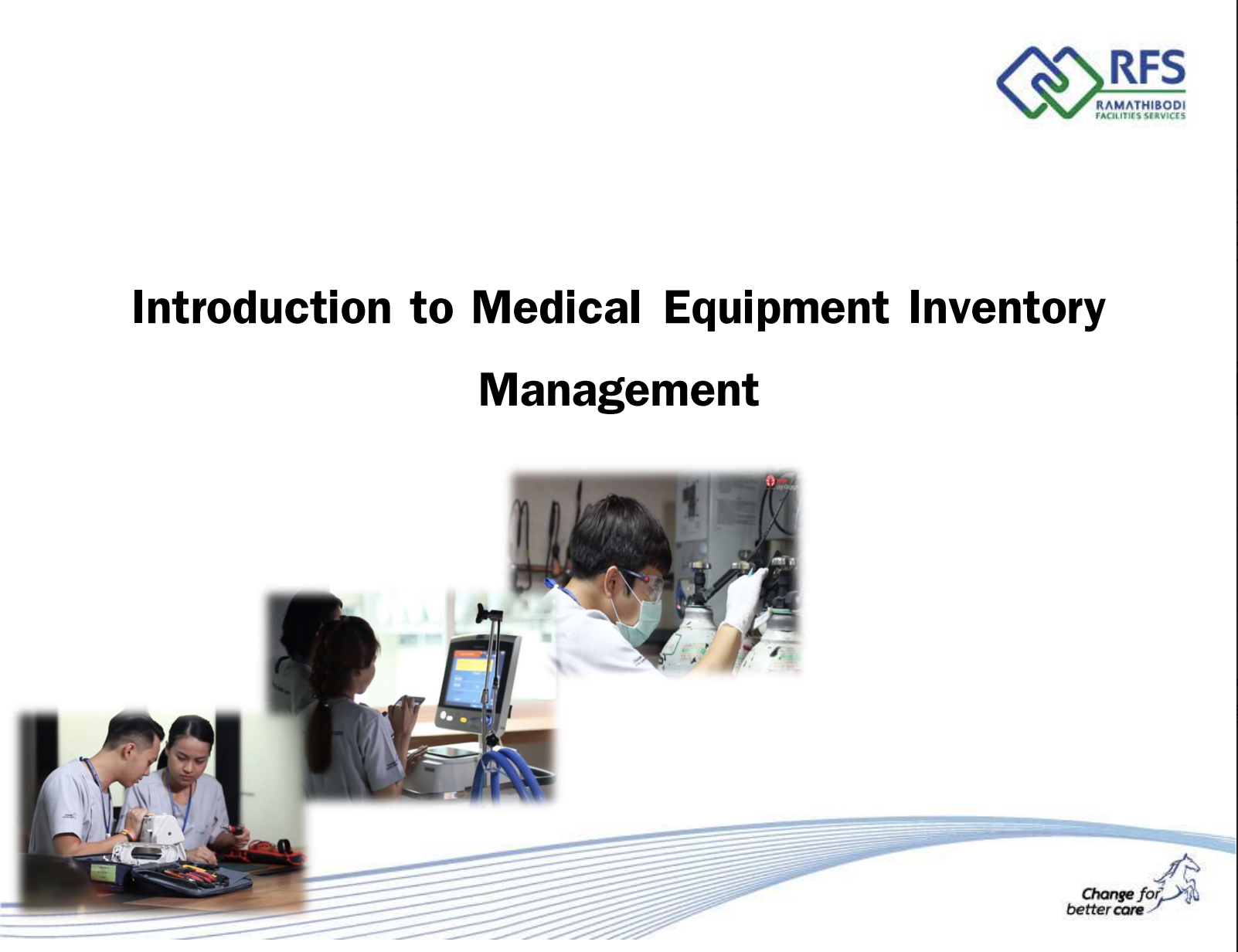 Introduction to Medical Equipment Inventory Management