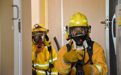 ฝึกซ้อมอพยพหนีไฟย่อย ประจำหน่วยงานหอพักผู้ป่วย 86 เตรียมพร้อมรับมืออัคคีภัย