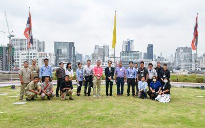 ยินดีต้อนรับคณะผู้บริหารและเจ้าหน้าที่ โรงพยาบาลจุฬาลงกรณ์ สภากาชาดไทย เข้าศึกษาดูงาน สวนสุขวนา ศูนย์การแพทย์สมเด็จพระเทพรัตน์ โรงพยาบาลรามาธิบดี